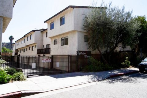 Wilshire Manor Verdugo Glendale California