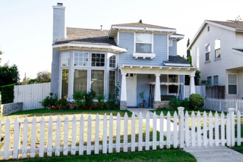 Canoga Park Picket Fences Winnetka California