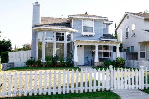 Canoga Park Picket Fences Winnetka California