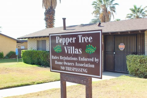 Pepper Tree Villas hemet