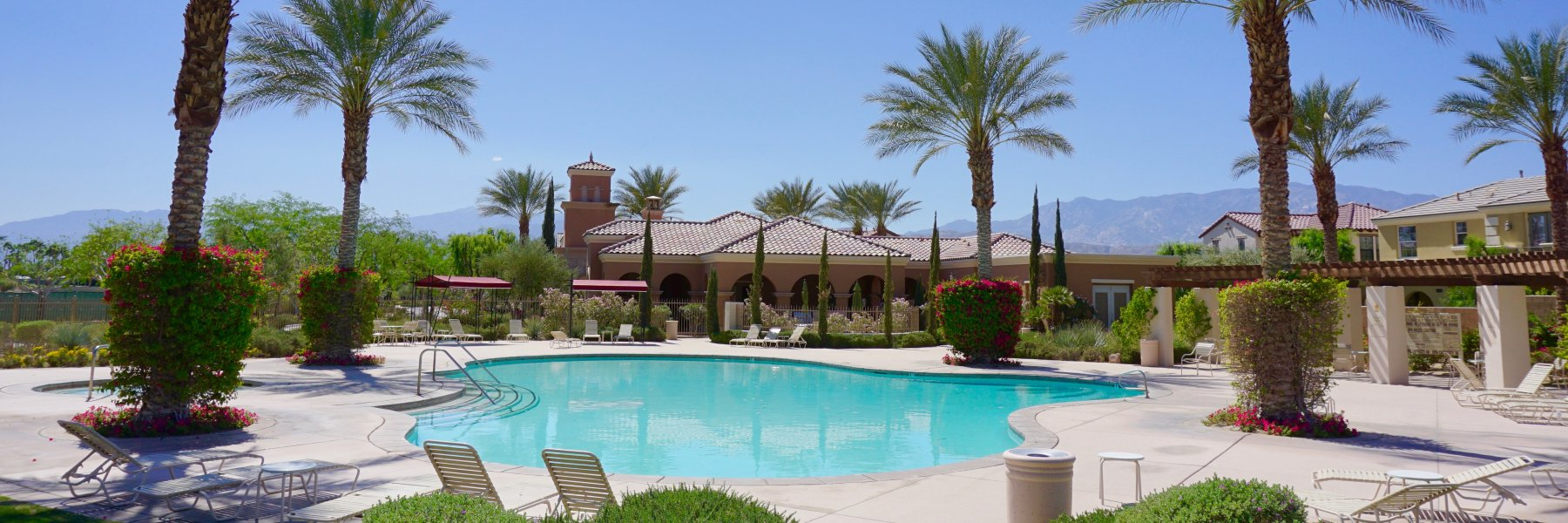 Campanile is a community of homes in Cathedral City California