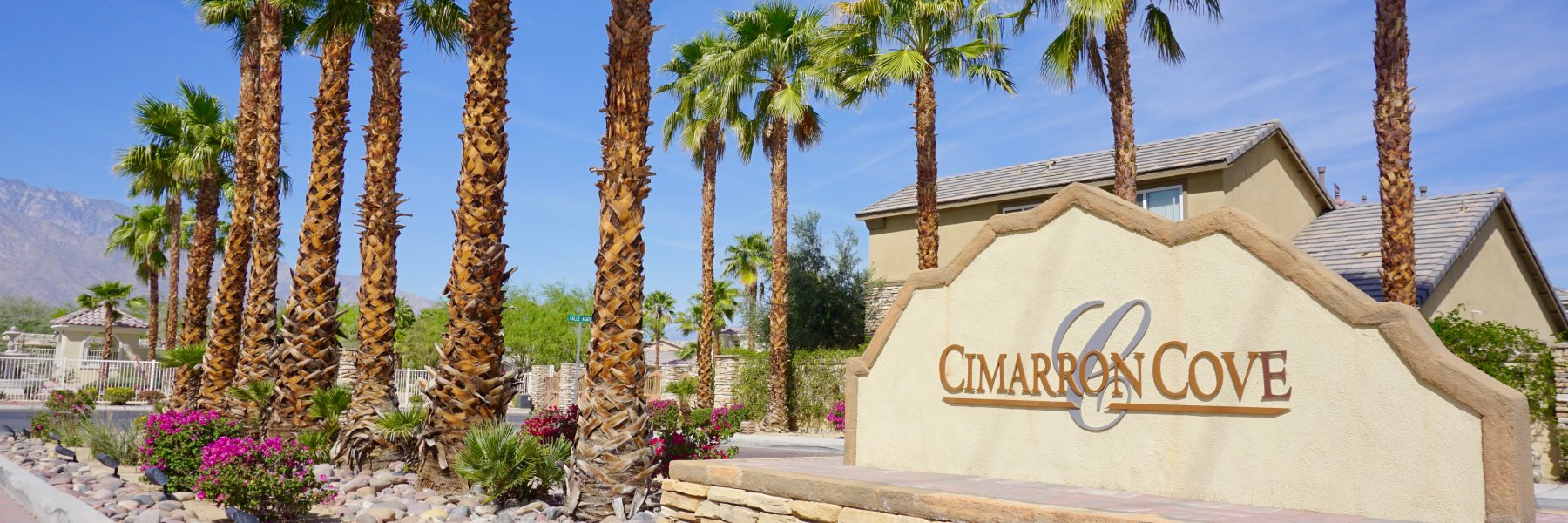 Cimarron Cove is a community of homes in Cathedral City California