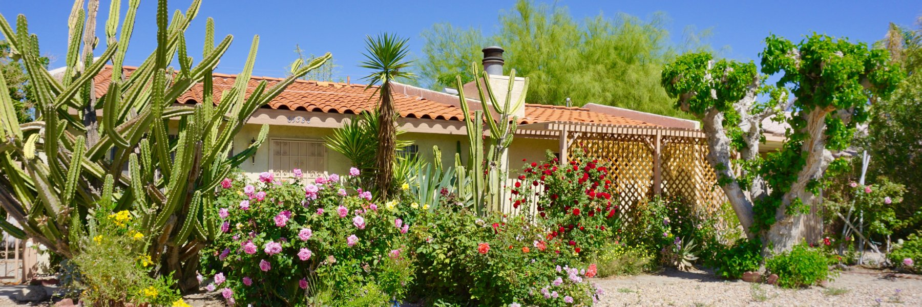 Rich Sand Estates is a community of homes in Cathedral City California