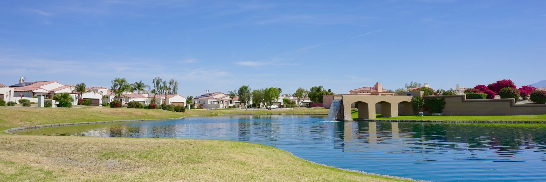 Rio Del Sol is a community of homes in Cathedral City California