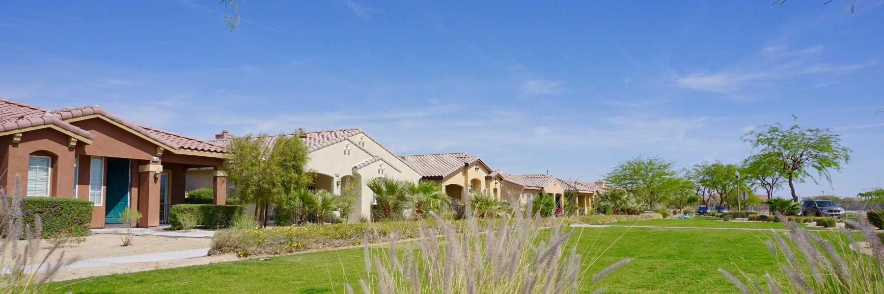 Verano is a community of homes in Cathedral City California