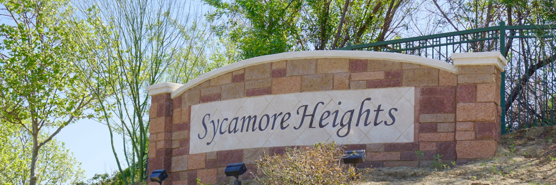 Sycamore Heights is a community of homes in Chino Hills California