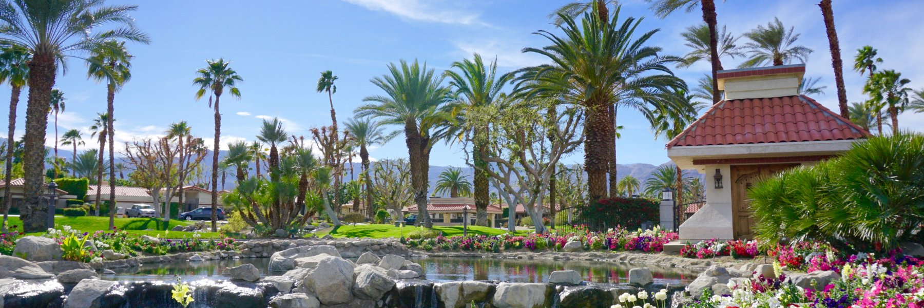Los Lagos is a community of homes in Indian Wells, California