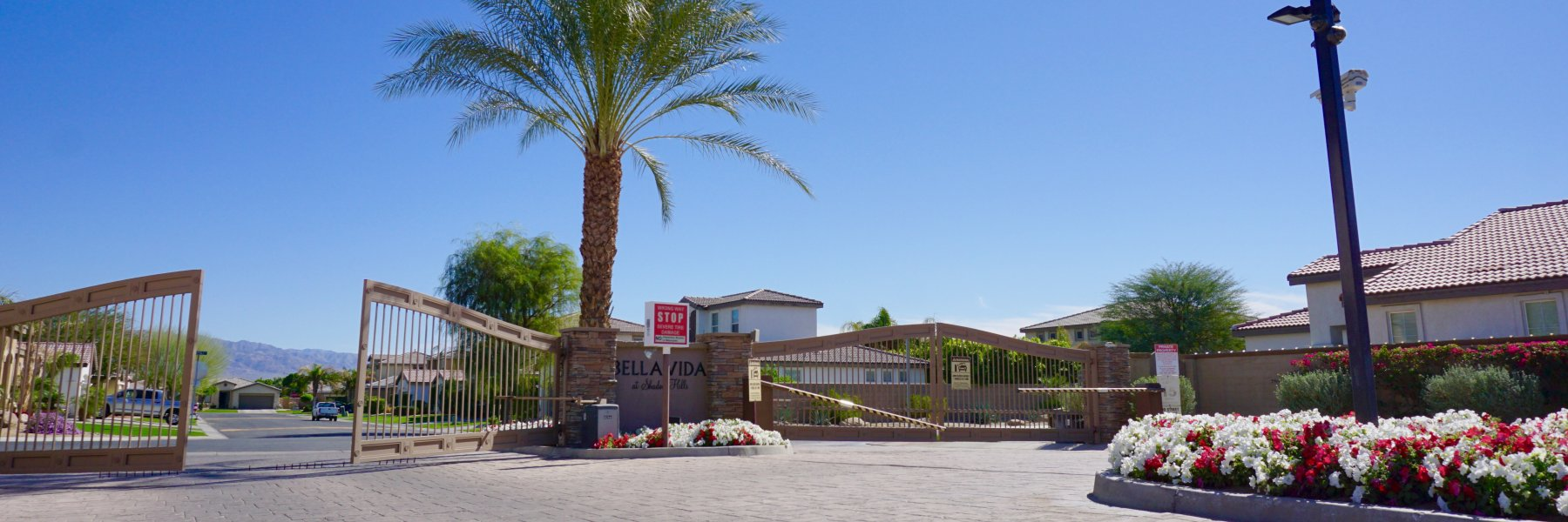 Bella Vida is a community of homes in Indio California