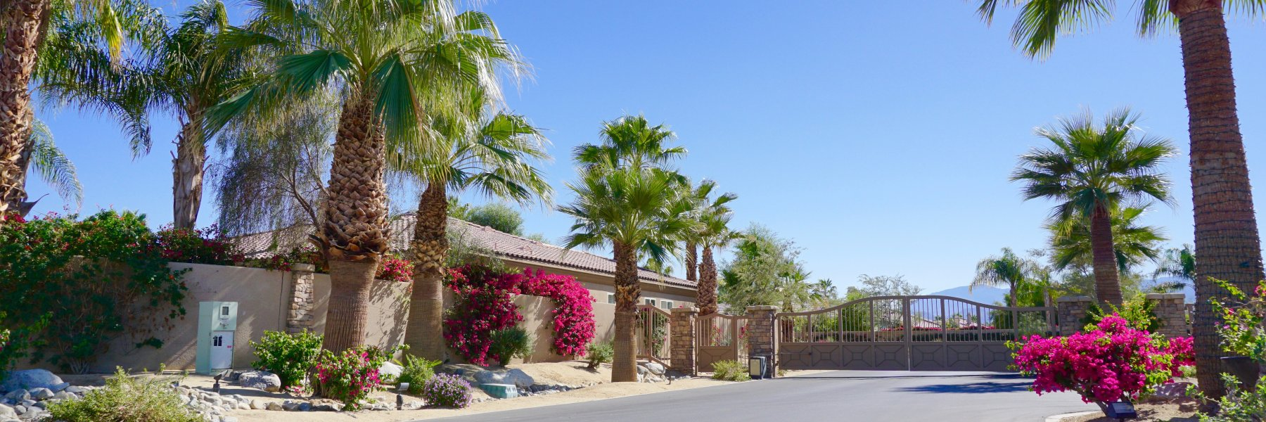 Desert River Estates is a community of homes in Indio California