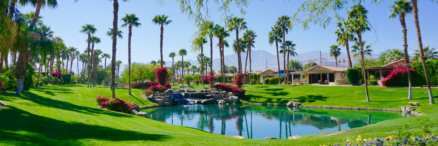 Desert Shores is a community of homes in Indio California