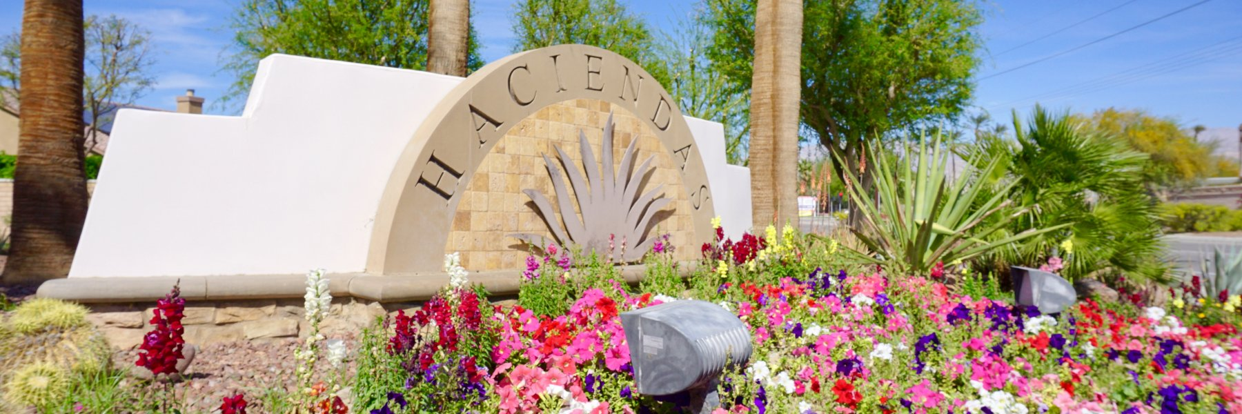 Haciendas is a community of homes in Indio California