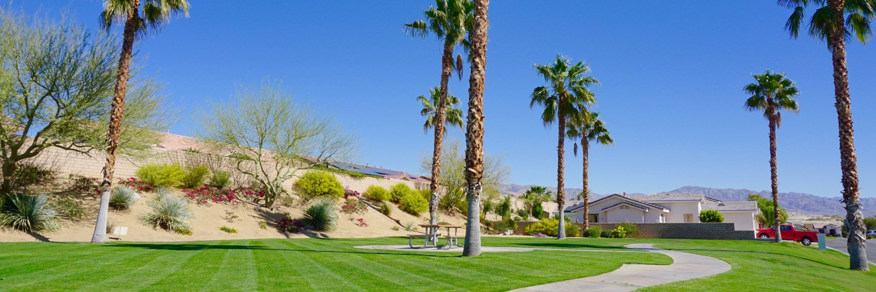 Sandhurst Cove is a community of homes in Indio California