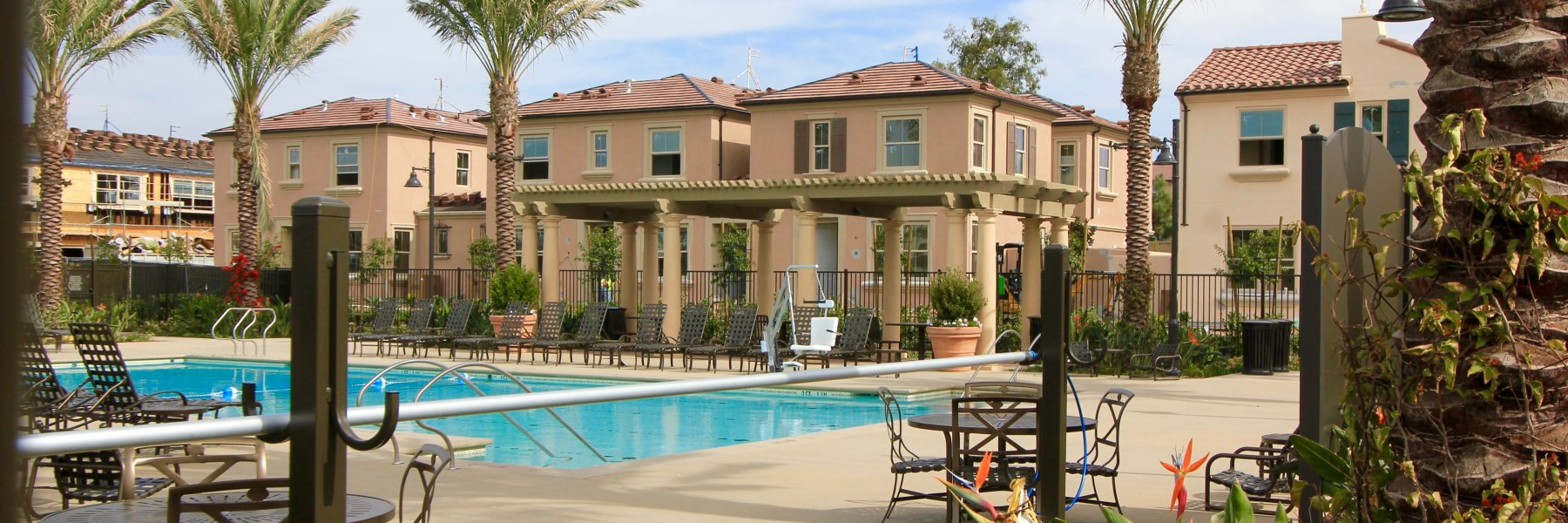 Cypress Village is a community of homes in Irvine California