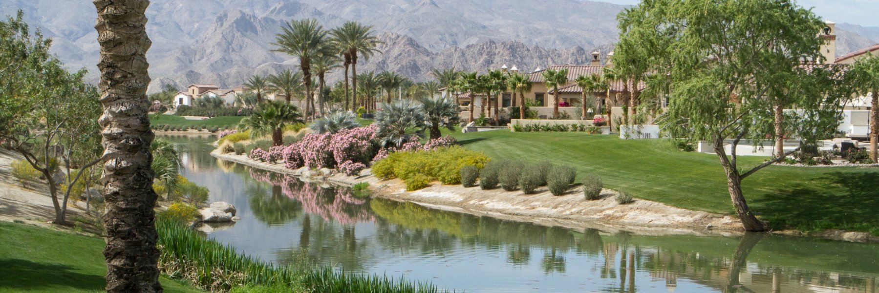 Andalusia Country Club is a community of homes in La Quinta California