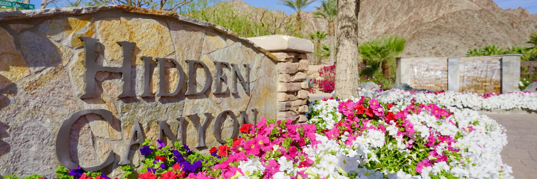 Hidden Canyon is a community of homes in La Quinta California
