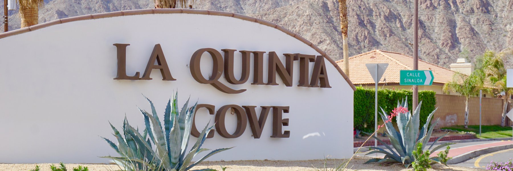 La Quinta Cove is a community of homes in La Quinta California