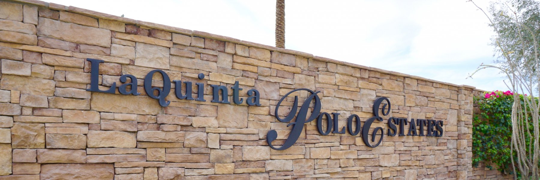 La Quinta Polo Estates is a community of homes in La Quinta California