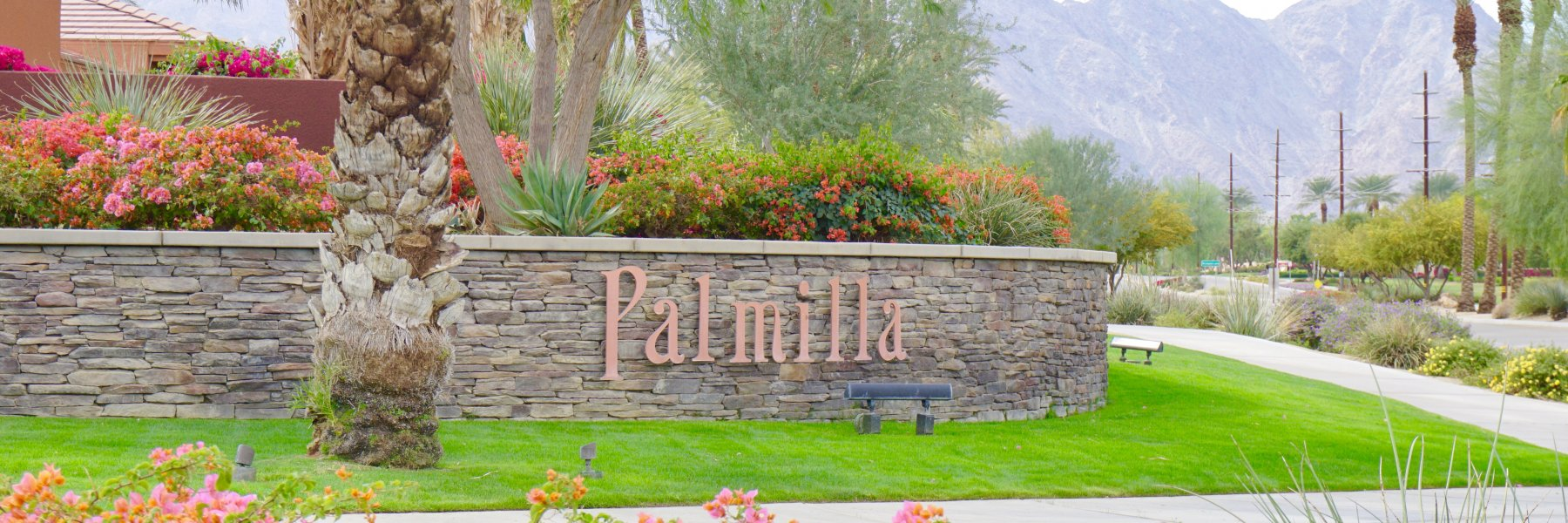 Palmilla is a community of homes in La Quinta California