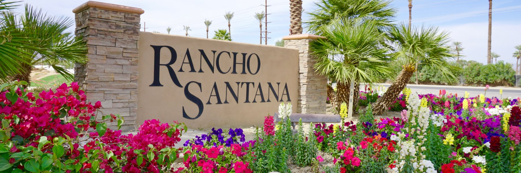 Rancho Santana is a community of homes in La Quinta California