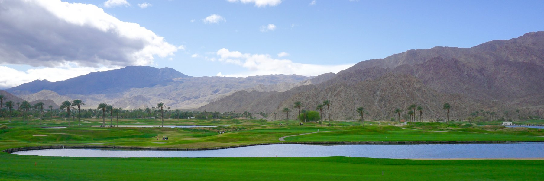 Santa Rosa Cove is a community of homes in La Quinta California