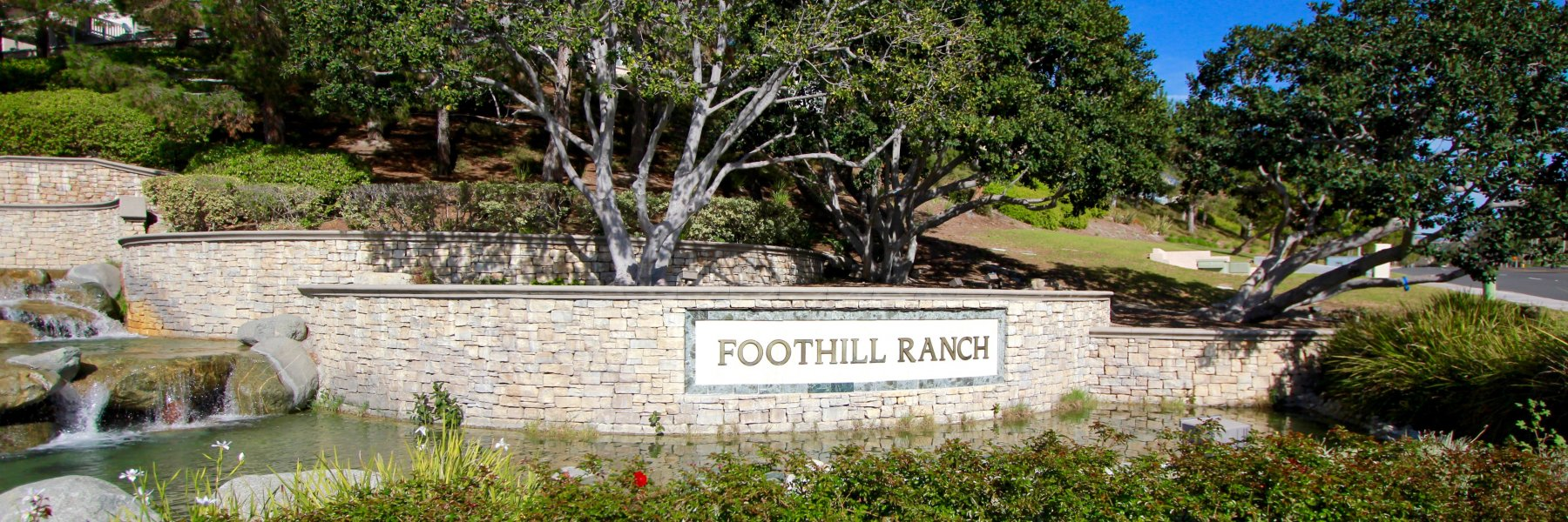 Foothill Ranch is a community of homes in Lake Forest California