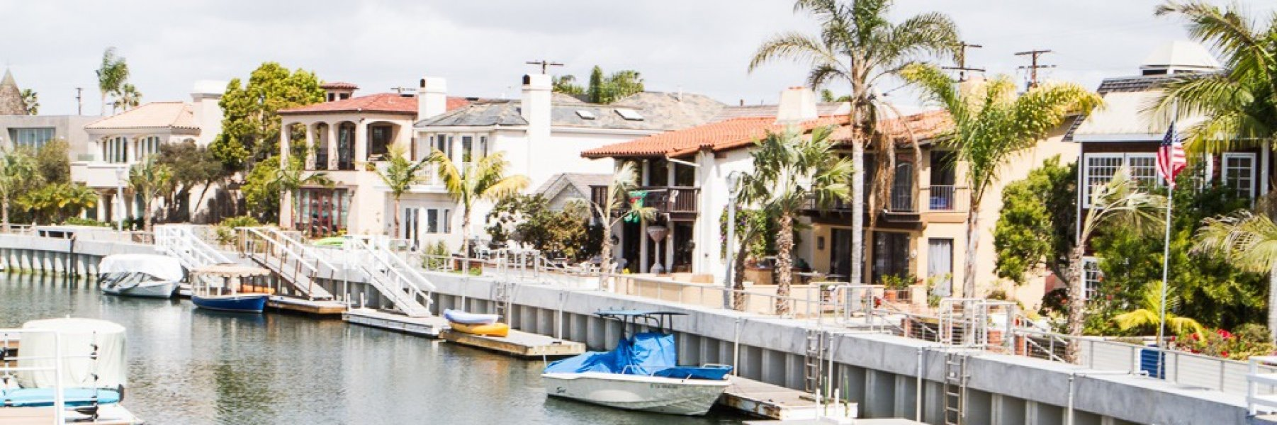 Naples is a community of homes in Long Beach California
