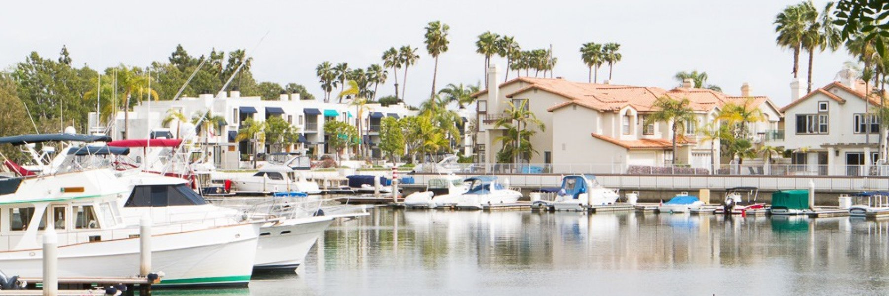 Spinnaker Bay is a community of homes in Long Beach California