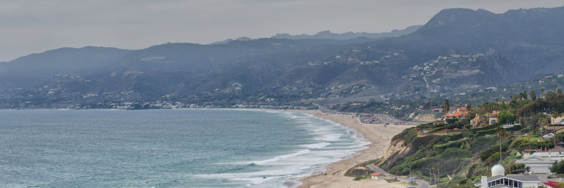 Point Dume is a community of homes in Malibu California