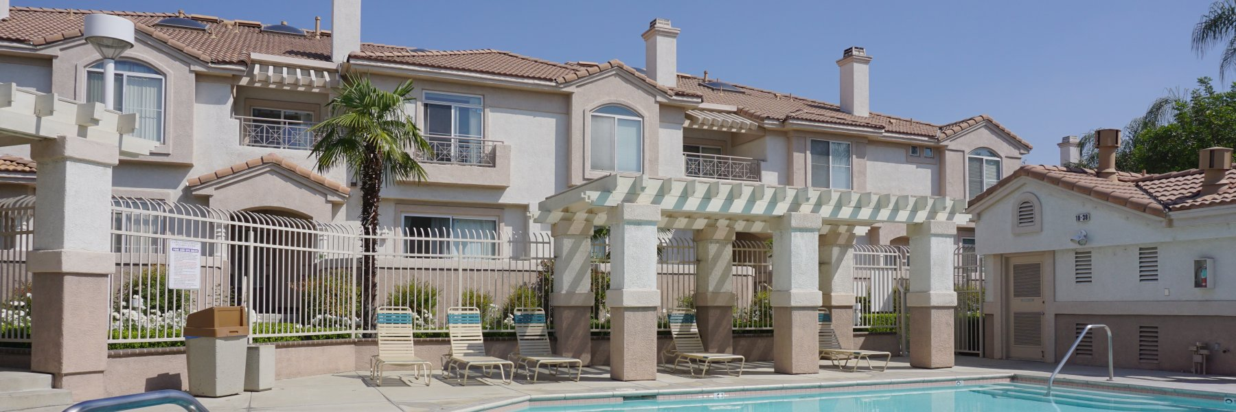 Laing's First Edition is a community of attached homes in Ontario California