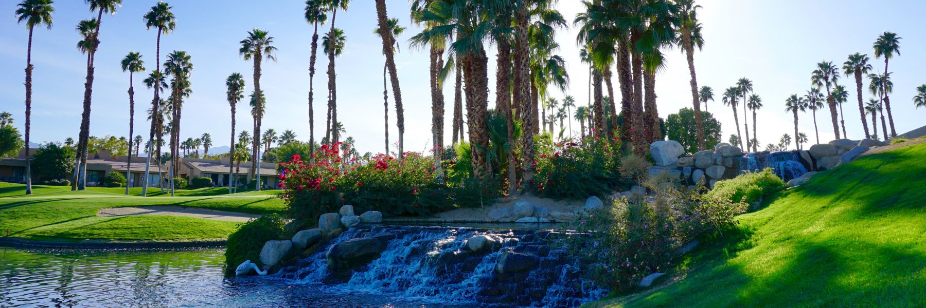 Palm Valley Country Club is a community of homes in Palm Desert California