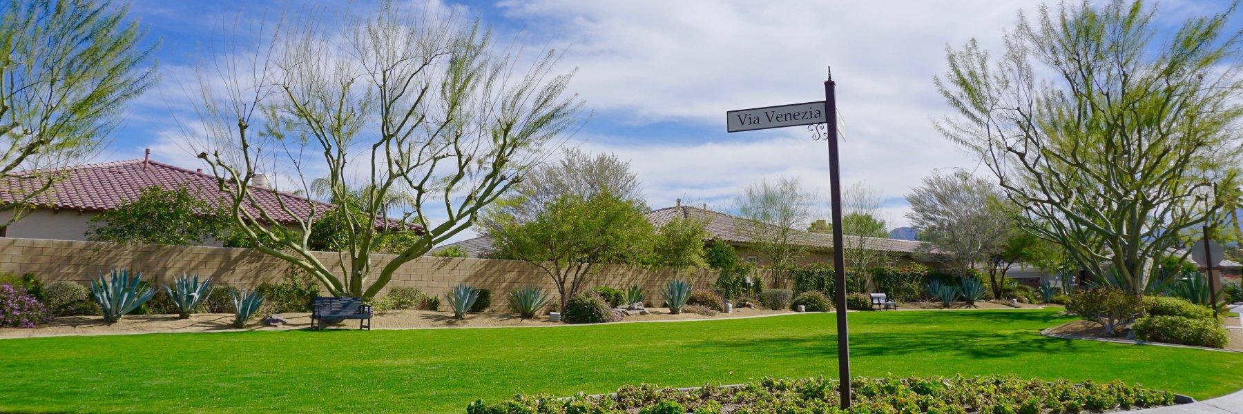 Venezia is a community of homes in Palm Desert California