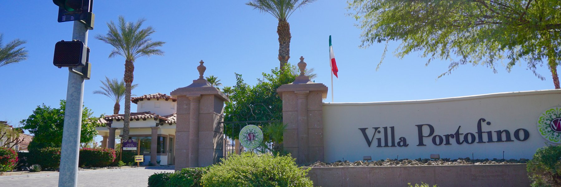 Villa Portofino is a community of homes in Palm Desert California