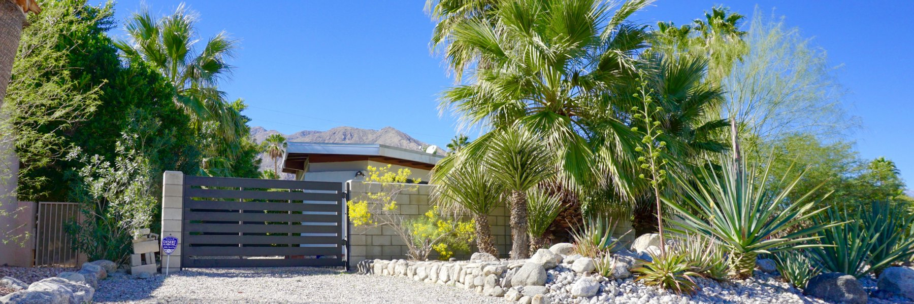 Chino Canyon is a community of homes in Palm Springs California