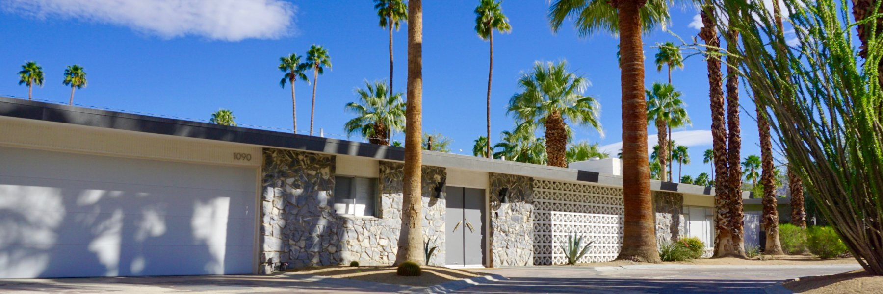 Deepwell Estates is a community of homes in Palm Springs California