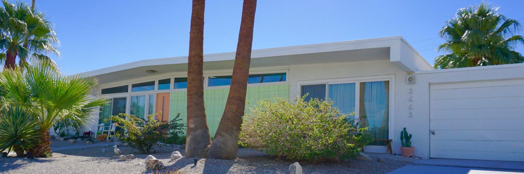 El Rancho Vista Estates is a community of homes in Palm Springs California