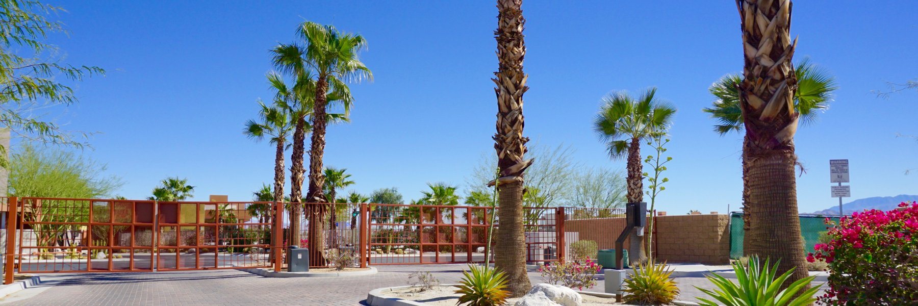 Palermo is a community of homes in Palm Springs California