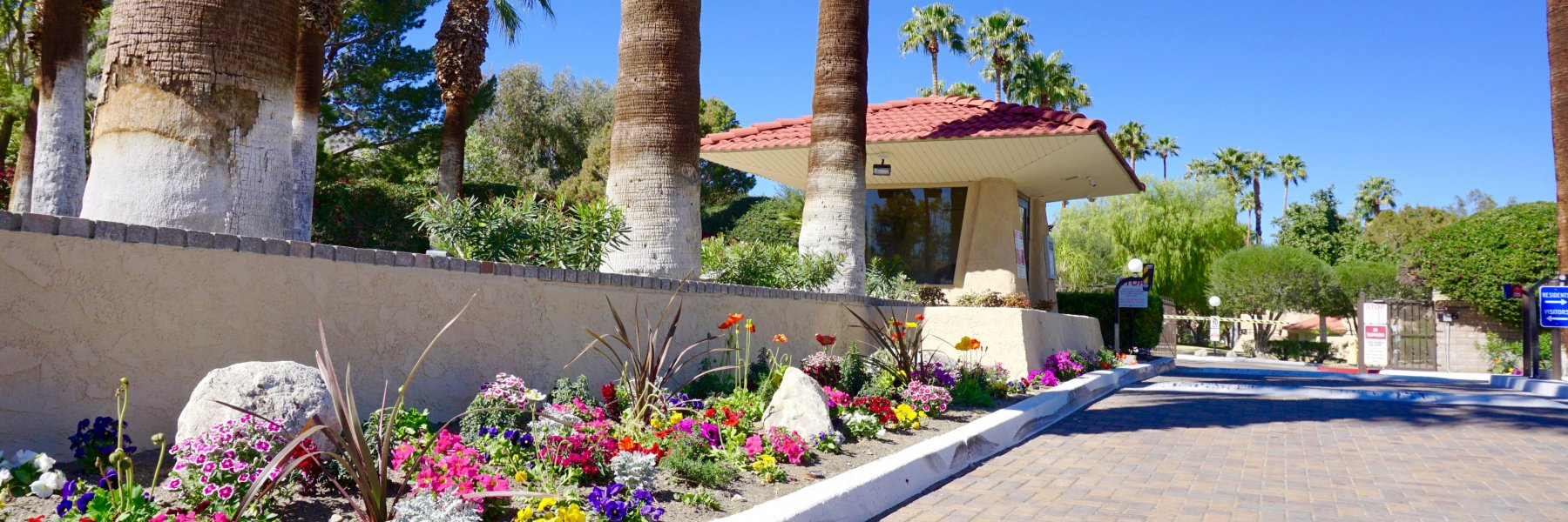 Palm Springs Villas I is a community of homes in Palm Springs California