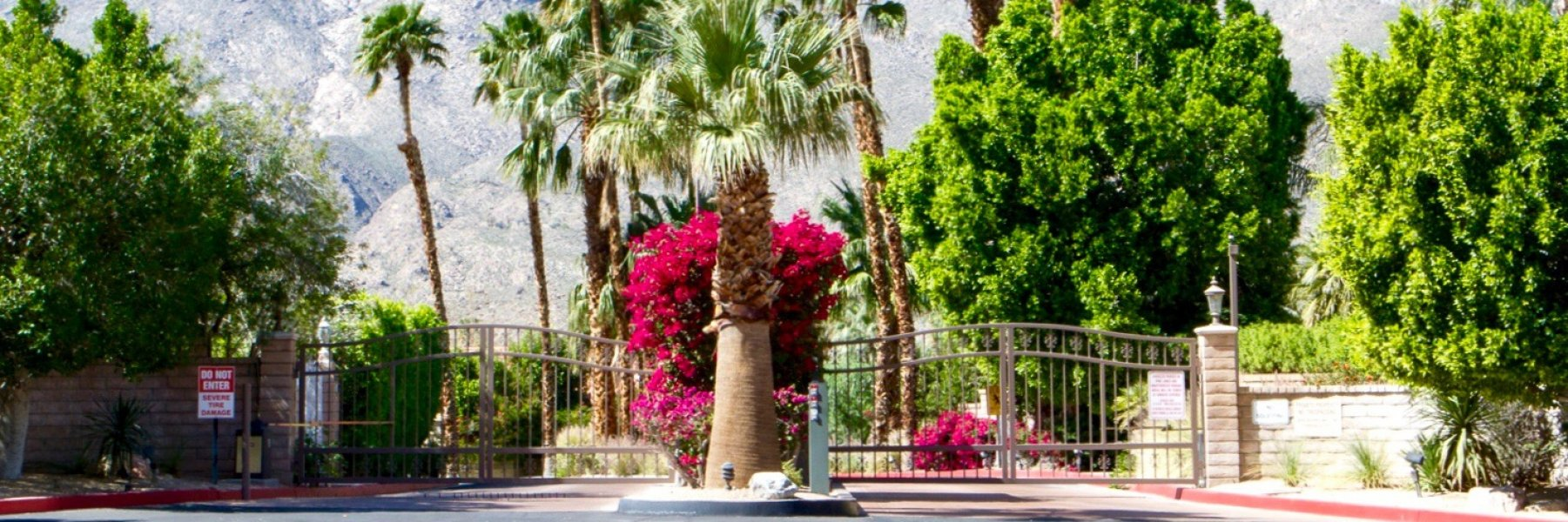Parc Andreas is a community of homes in Palm Springs California