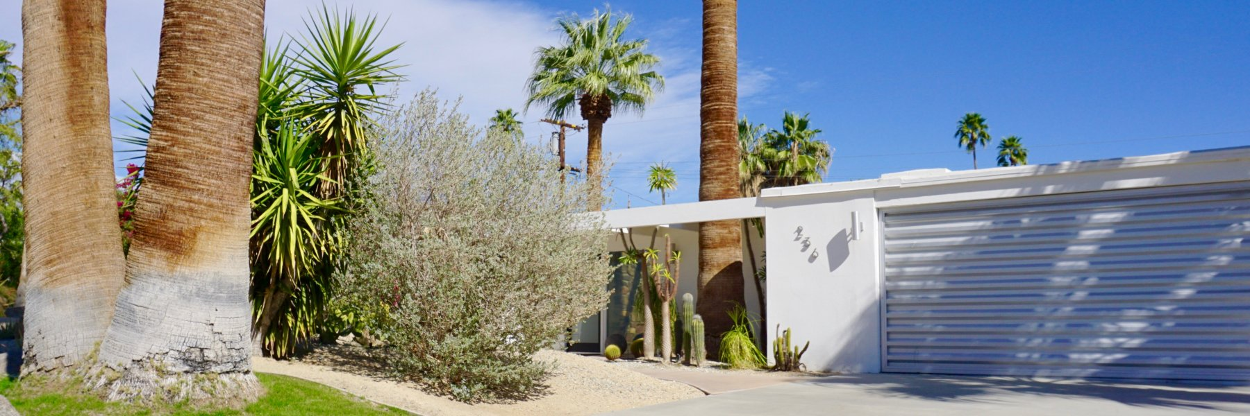 Sunrise Park is a community of homes in Palm Springs California