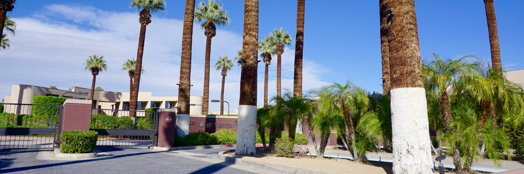 Village Racquet Club is a community of condos in Palm Springs California