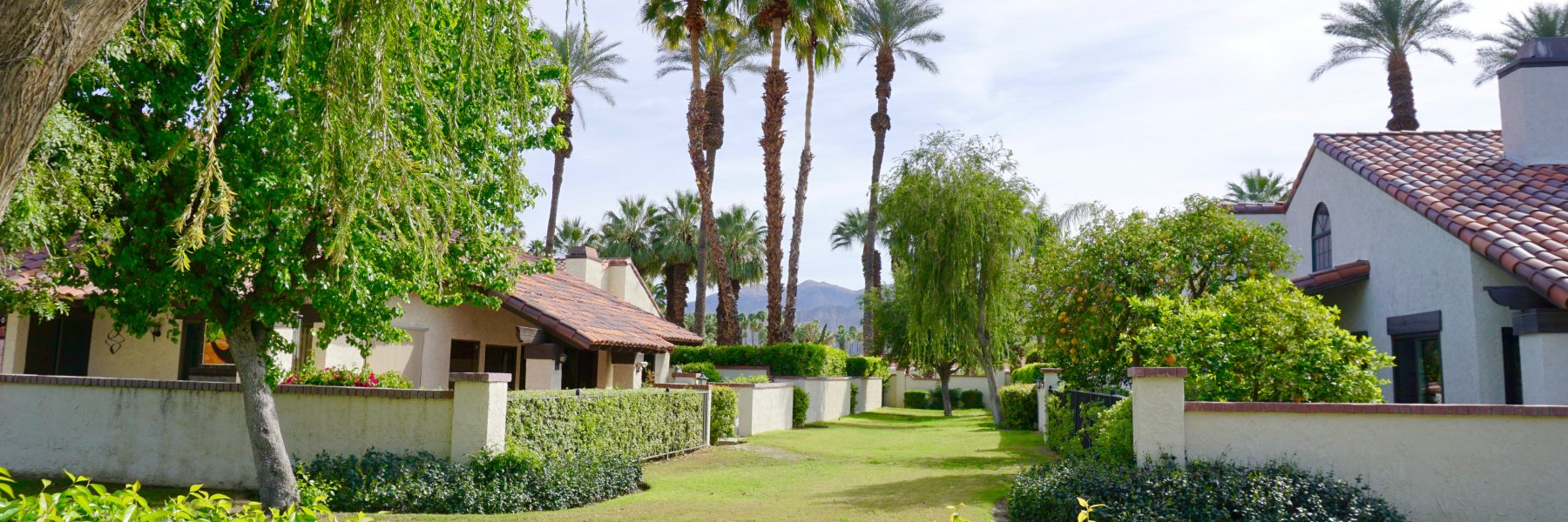 Casas De Seville is a community of homes in Rancho Mirage California