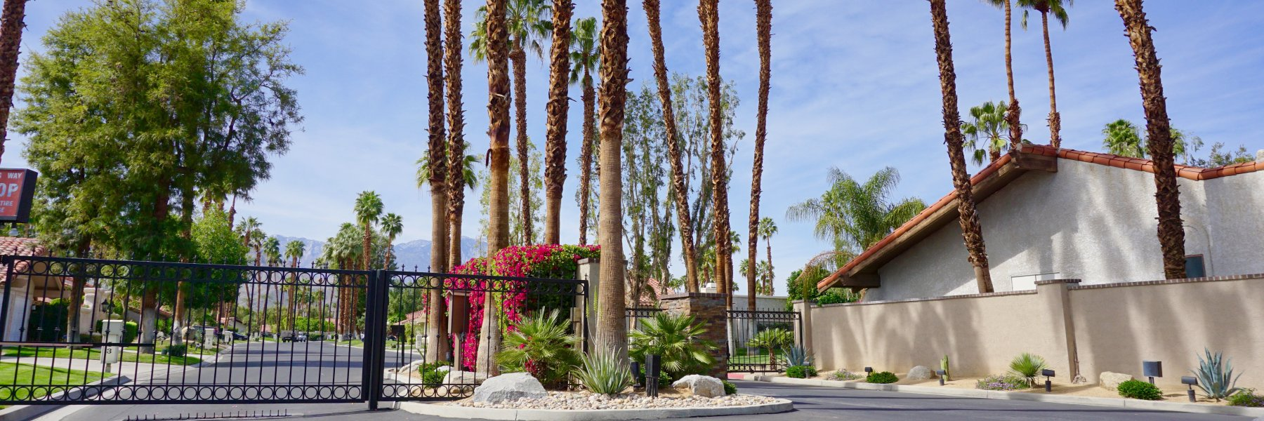 Country Club Estates is a community of homes in Rancho Mirage California