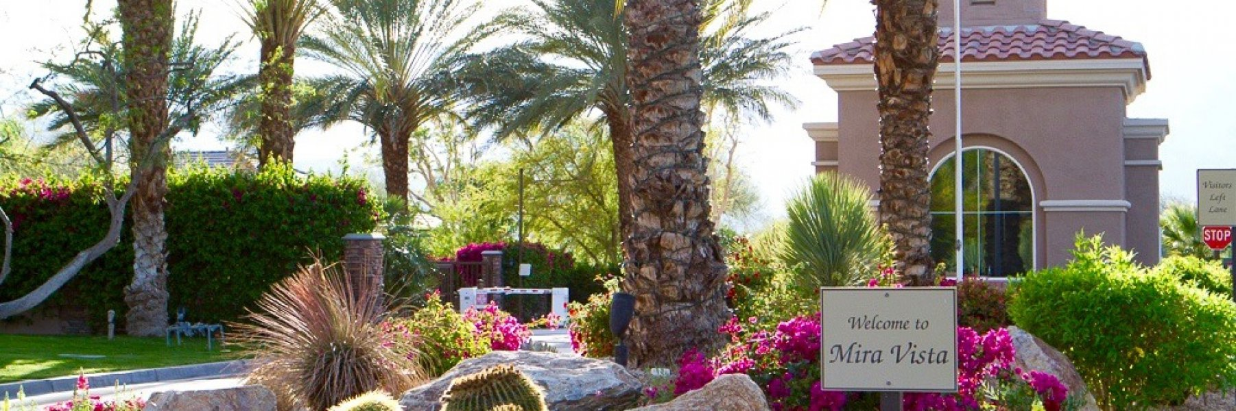 Mira Vista is a community of homes in Rancho Mirage California