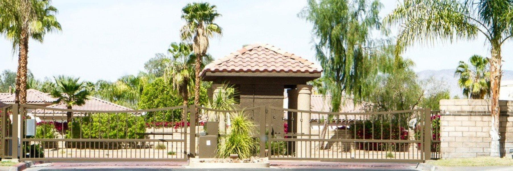 Mission Wells is a community of homes in Rancho Mirage California