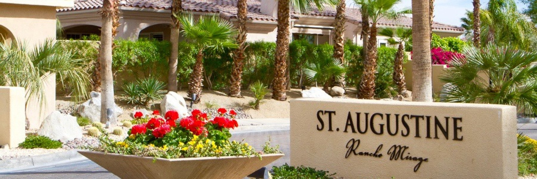 St Augustine is a community of homes in Rancho Mirage California