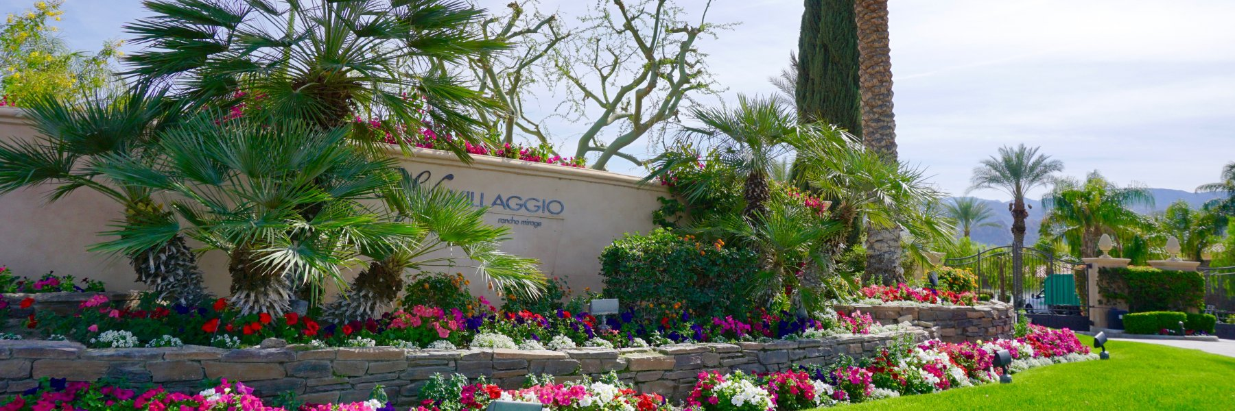 Villaggio on Sinatra is a community of homes in Rancho Mirage California