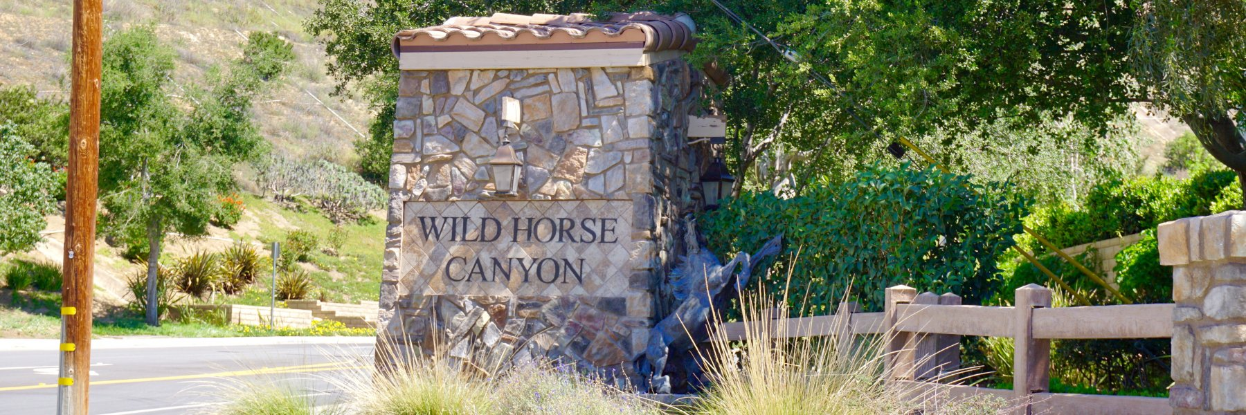 Wild Horse Canyon is a community of homes in Simi Valley California