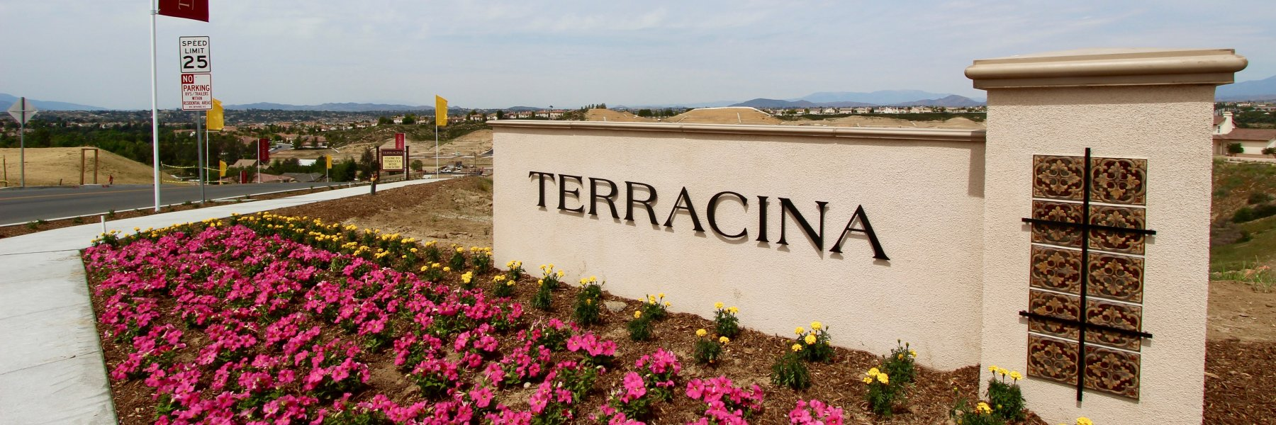 Terracina is a community of homes in Temecula California