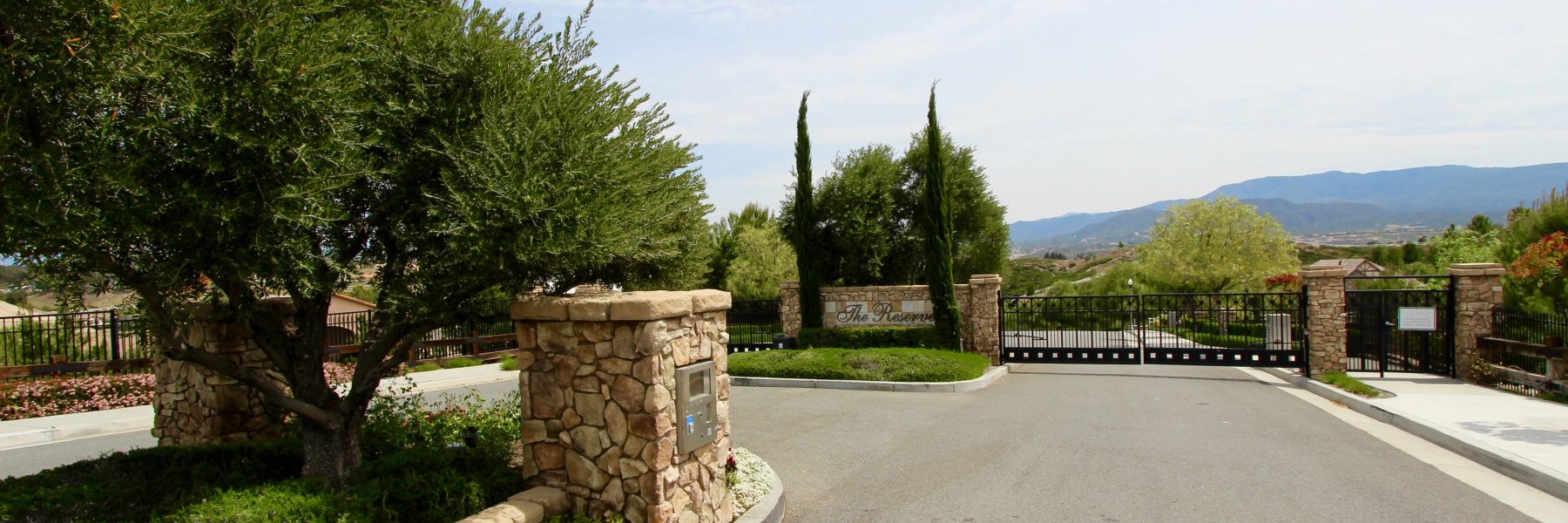 The Reserve at Crowne Hill is a community of homes in Temecula California