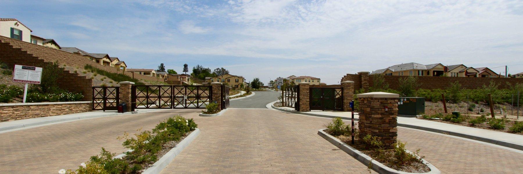 The Vineyard by Van Daele is a gated community of homes in Temecula California